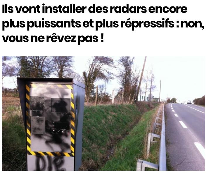 """La sécurité routière parle de la mise en place de radars """"tourelles"""". - Page 2 Captu257"""