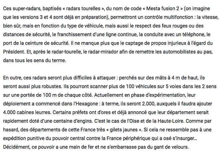 """La sécurité routière parle de la mise en place de radars """"tourelles"""". - Page 2 Captu258"""