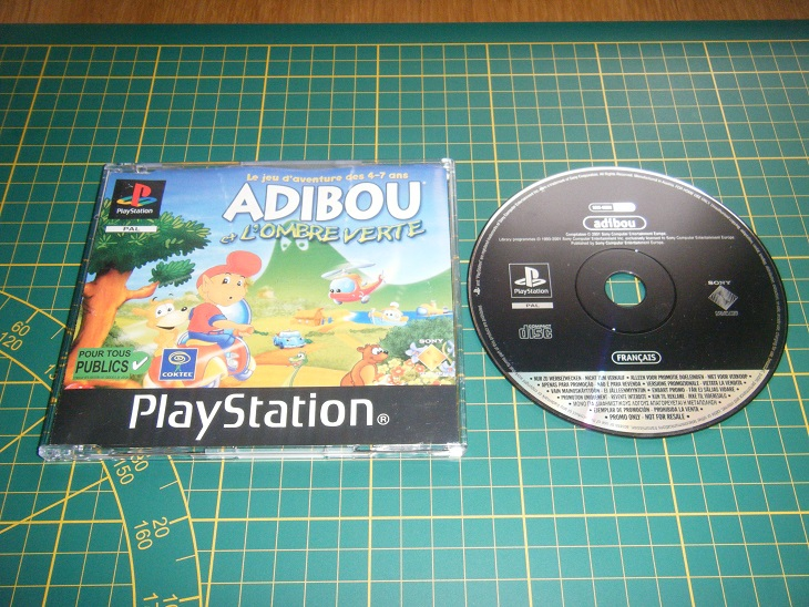 Promo only - Version promo collection Ps1_ad10