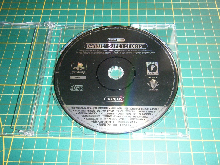 Promo only - Version promo collection Ps1_ba10