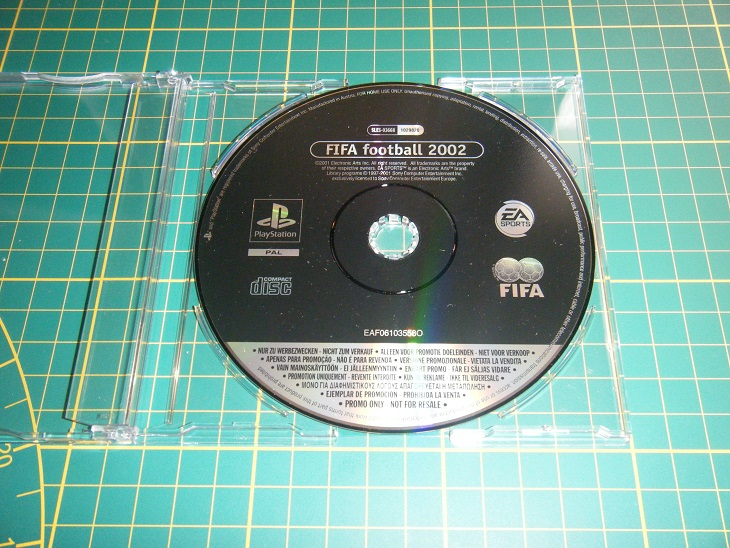 Promo only - Version promo collection Ps1_fi11