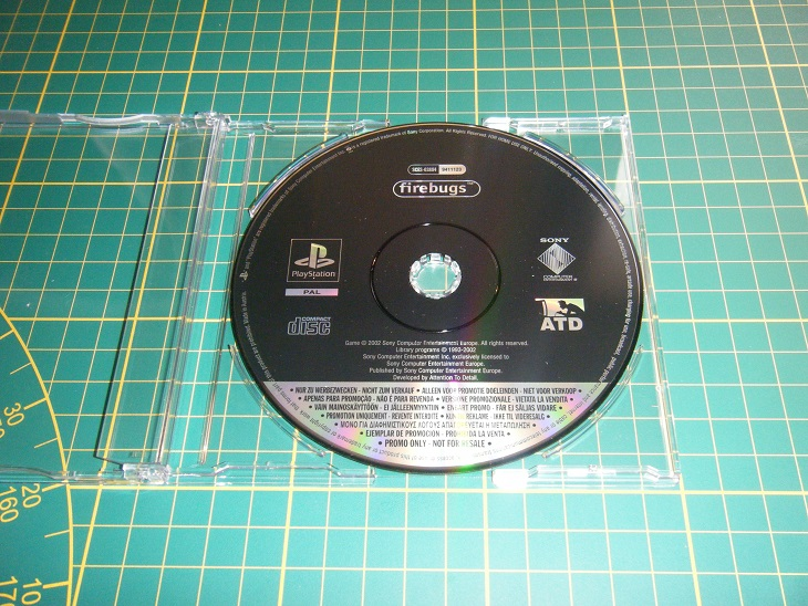 Promo only - Version promo collection Ps1_fi12