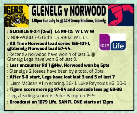Glenelg v Norwood round 13 Rd_13_20