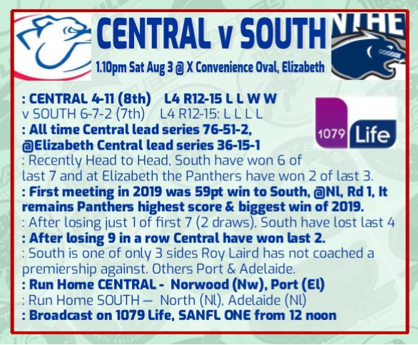 Central v South Round 16 Rd_16_10