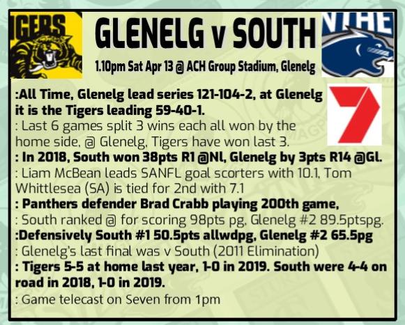 Round 3 Glenelg v South April 13th Rd_3_g10