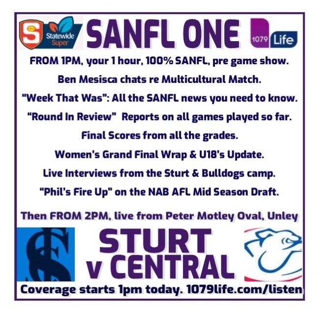 Sturt v Centrals  Round 8 Sanfl_11