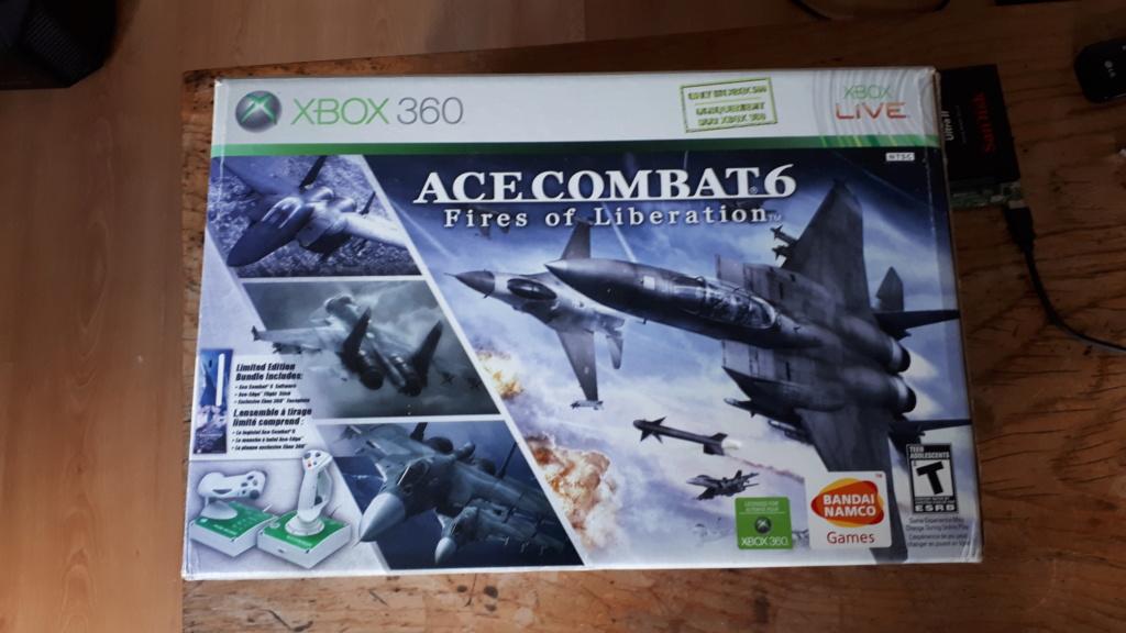 [est] ACE-Edge XBOX 360 stick vol officiel xbox bundle ace combat 20200625