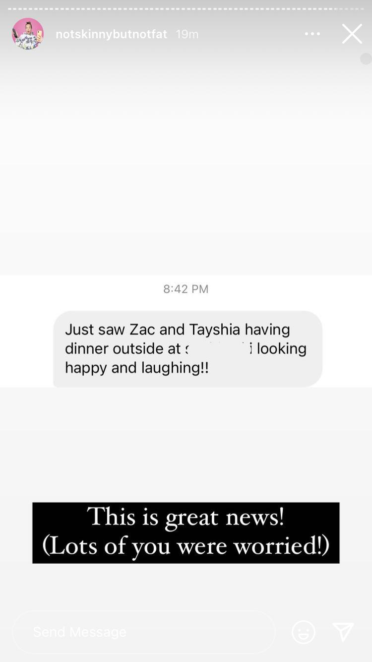 Tayshia Adams - Zac Clark - Bachelorette 16 - Discussion - Page 5 A282cc10