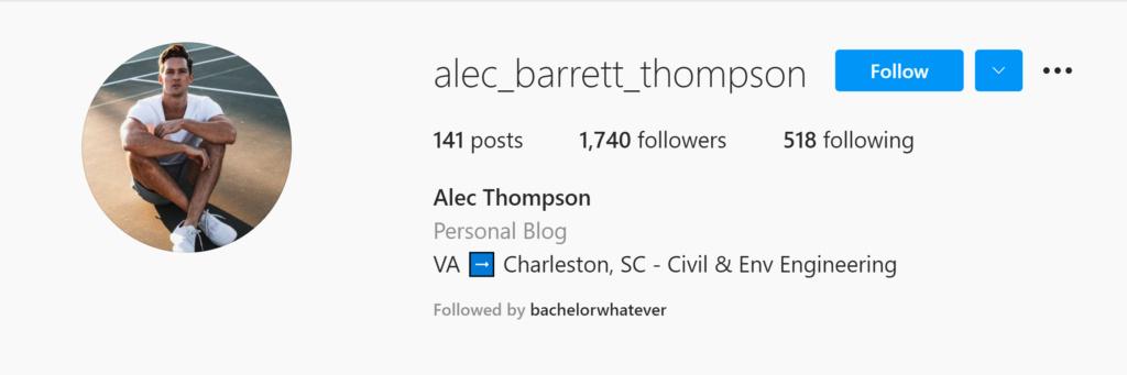 Alec Thompson - Bachelorette 18 - *Sleuthing Spoilers*  Alec-t10