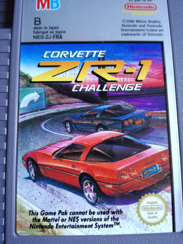 La trouvaille du jour : Corvette ZR-1 Challenge sur Nintendo NES Img_2011