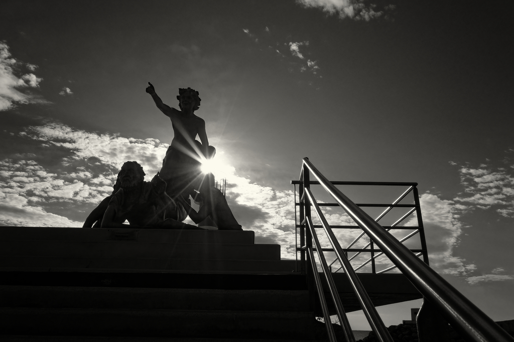 Statue Port de Palavas Statue12