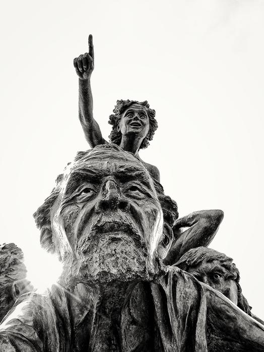 Statue Port de Palavas Statue13