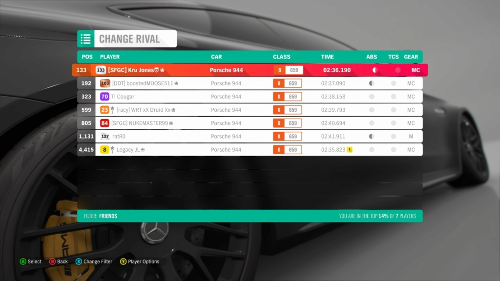 FH4 Time Attack | Road Racing Rivals | Porsche 944 - Lake District Sprint 2a544b10
