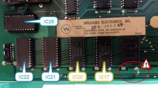 Dépannage d'une carte Williams System 4 (Flash) Img_2010