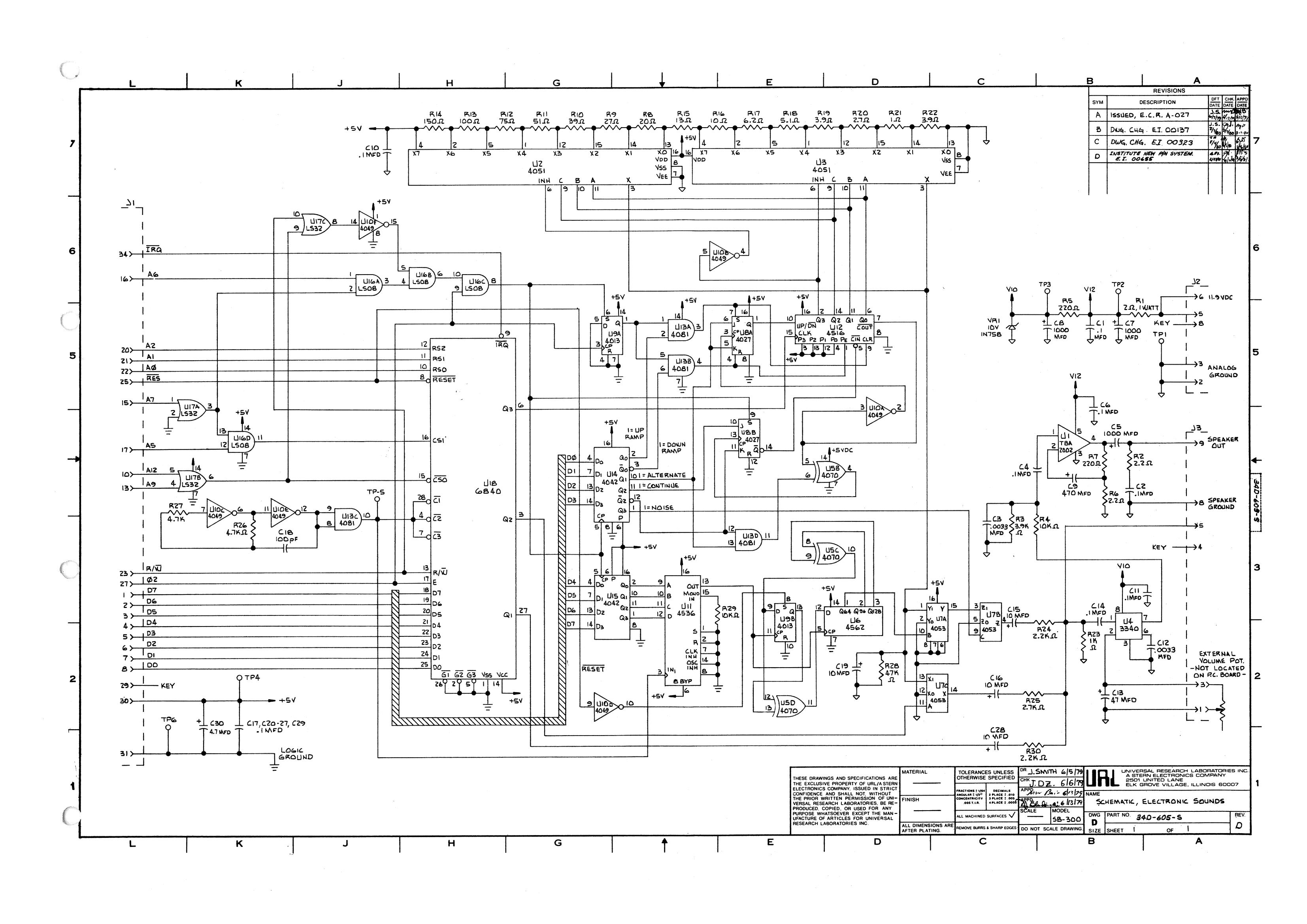 STERN - Carte son SB-300 Sb-30010