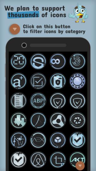 [APP] Packs d'icônes : icônes OSheden sous Android [Gratuit/Payant] Azulox10