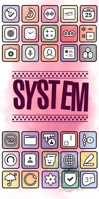 [APP] Packs d'icônes : icônes OSheden sous Android [Gratuit/Payant] Screen10