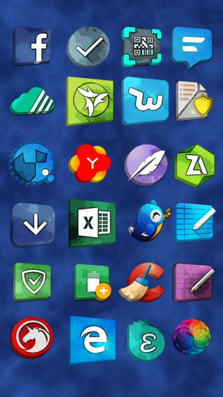 [APP] Packs d'icônes : icônes OSheden sous Android [Gratuit/Payant] Screen12