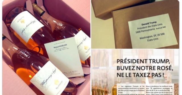 Pour répondre aux menaces de #Trump sur le #vin, le président de la région #PACA lui envoie du #rosé 13005810