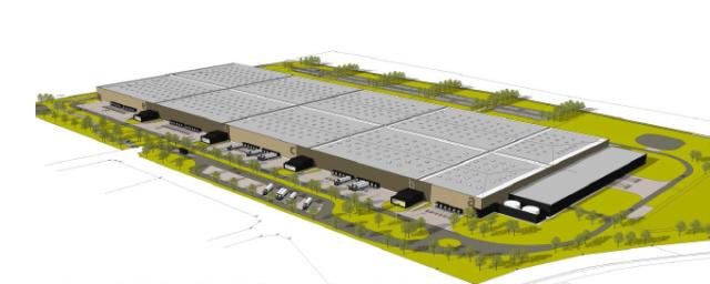 #TMCweb3 : #Amiens : #Elcimaï va réaliser une plate-forme #logistique de 118 000 m2 Captur10