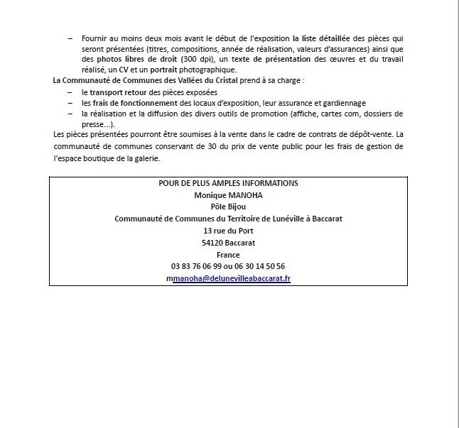 Appel à candidature pour une exposition Bijou et Objet de créateurs -  Sans_t10
