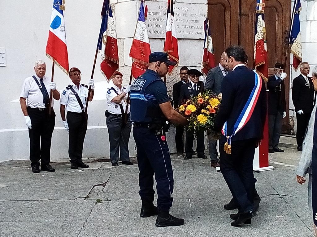 [ Histoire et histoires ] Commémoration : Il y a 75 ans la libération de Grenoble 22_08g23