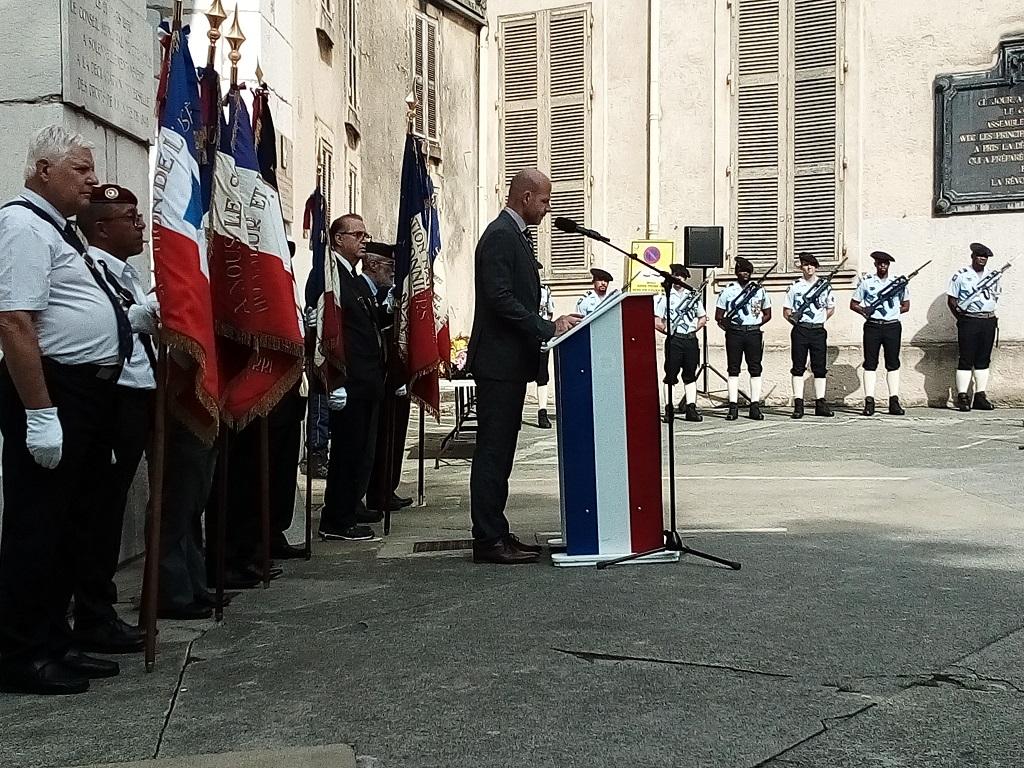 [ Histoire et histoires ] Commémoration : Il y a 75 ans la libération de Grenoble 22_08g24