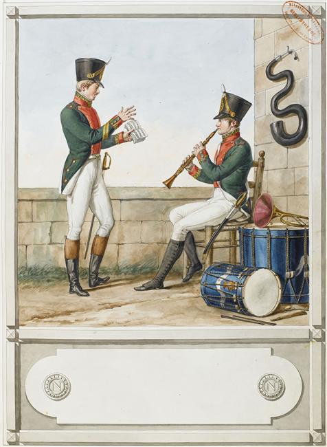 Instruments de musique de la Grande Armee 06-52610