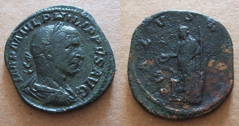 Mes bronzes du 3ème siècle - Page 12 Philip10
