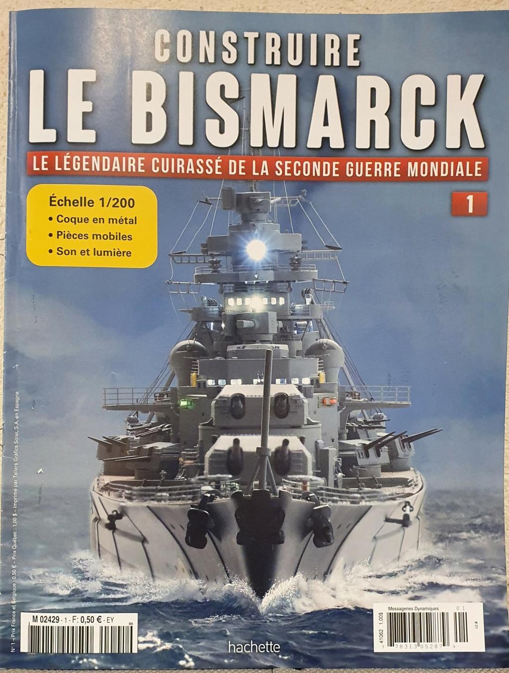 Le BISMARCK Hachette 1/200 140 Numèros 20200810