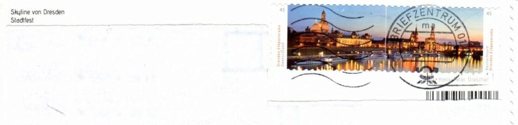 Briefmarken mit durchlaufenden Markenbild - Seite 2 Dresde10