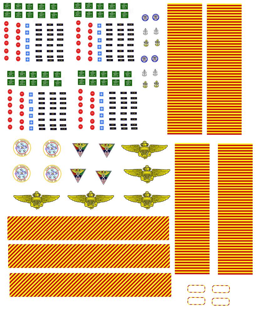 Trumpeter US Nimitz CVN68 au 1/350  - Page 4 Decal_10
