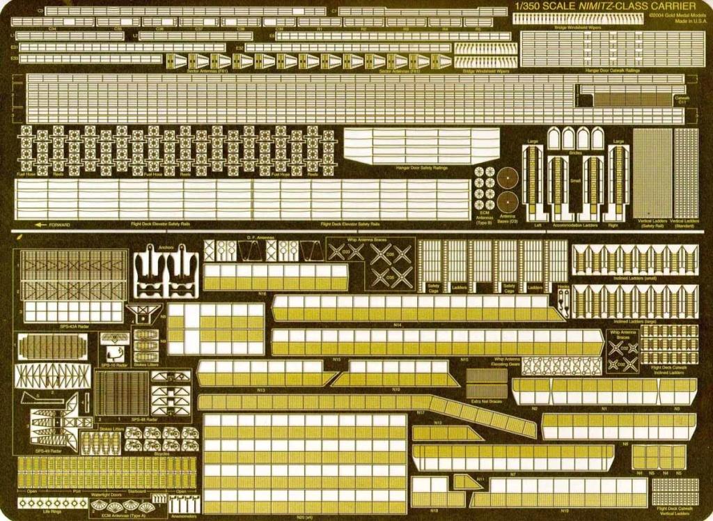 Trumpeter US Nimitz CVN68 au 1/350  - Page 3 Nimitz10