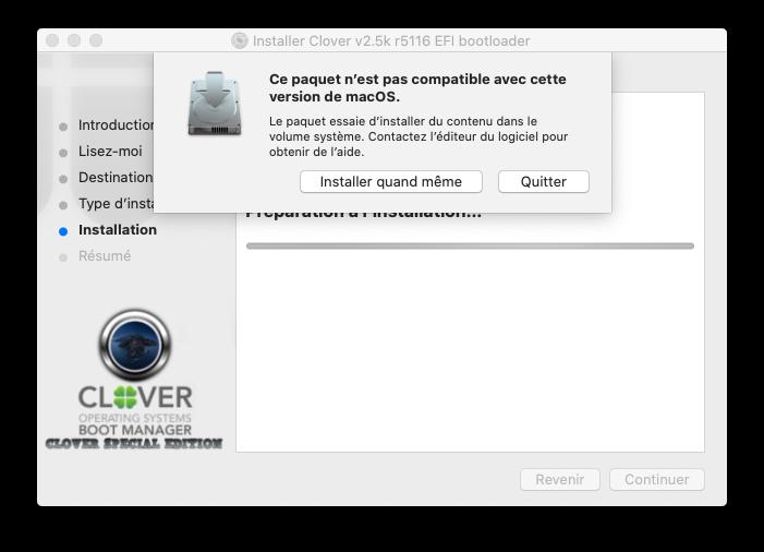 Cacher aprtitions windows dans le Clover boot menu Captur17