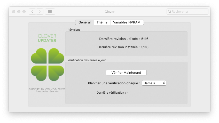 Cacher aprtitions windows dans le Clover boot menu Captur20