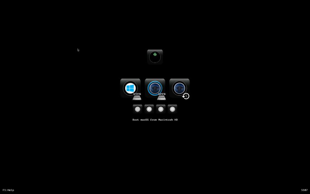 Cacher aprtitions windows dans le Clover boot menu Screen11