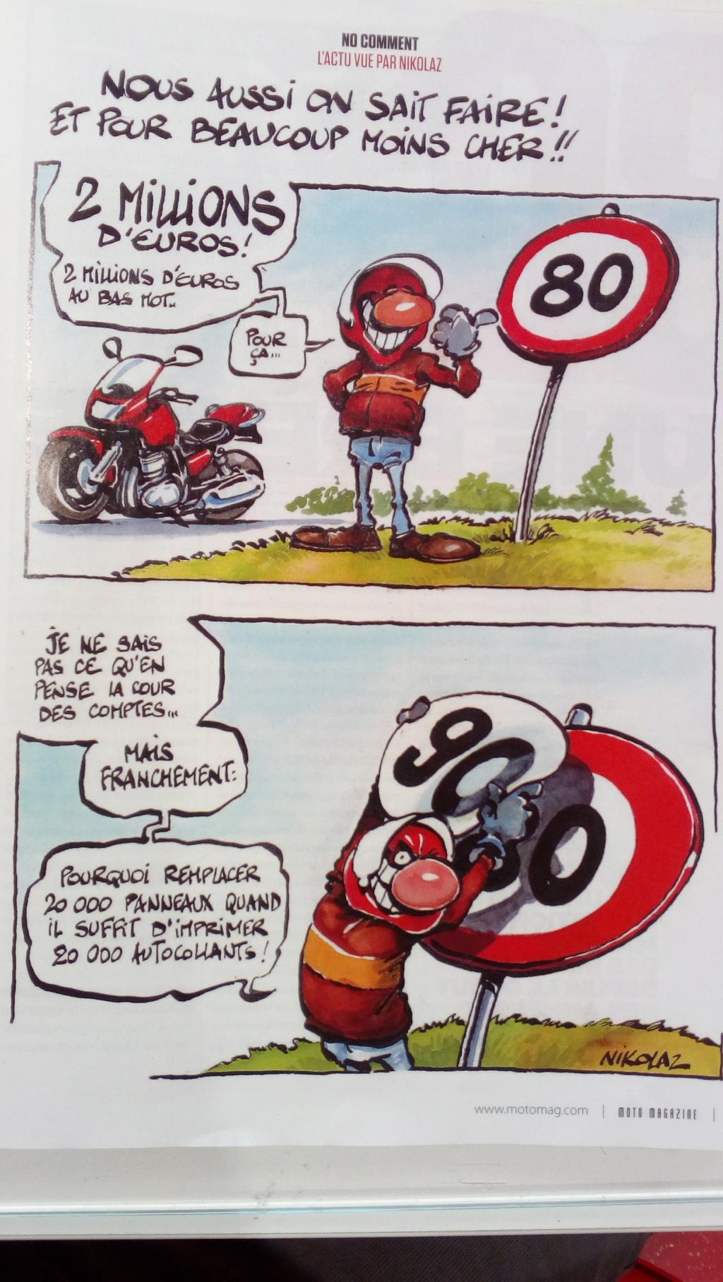 80 km/h, votre avis. - Page 2 Limita10