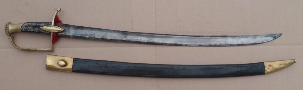 sabre de cavalerie légère pommeau cotes de melon 020b10
