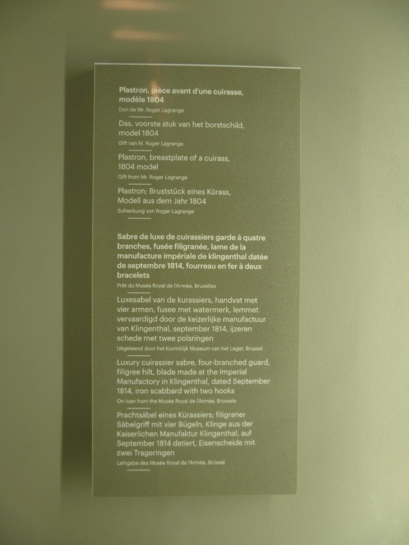 Quand était le fourreau modèle 1816 pour sabre cuirassier an XIII introduit? 19010