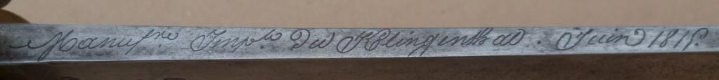 Identifier un sabre briquet 1er Empire 747_b11