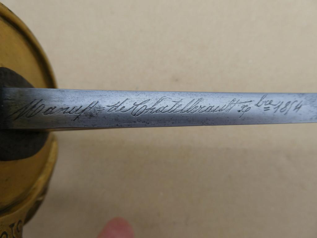 Décoration des sabres d'officier modèles 1822, 1854, 1855, 1882 et 1822-99 77411