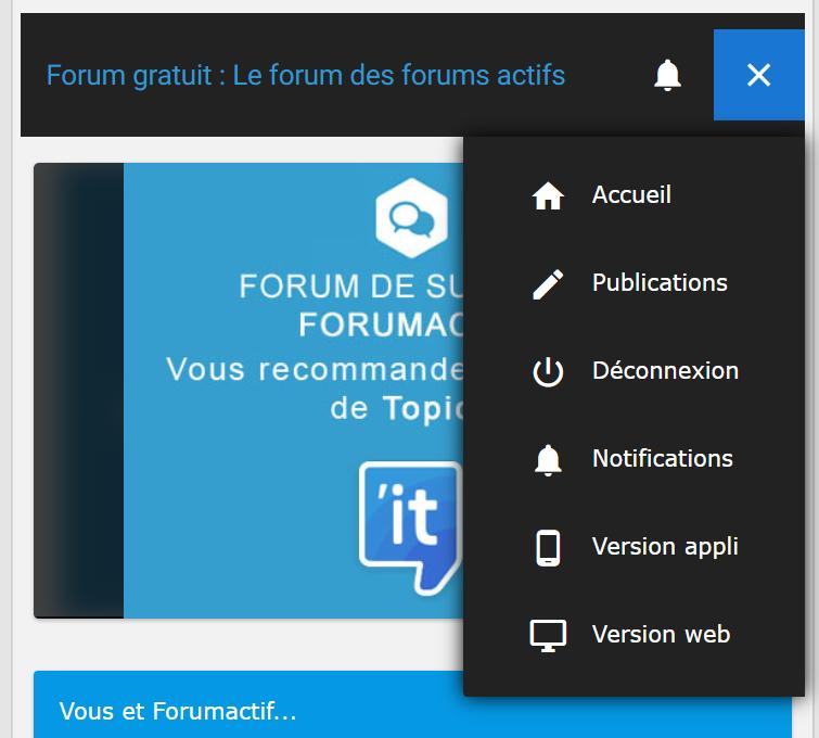 Ajouter un lien dans le menu hamburger de la version mobile Captur11