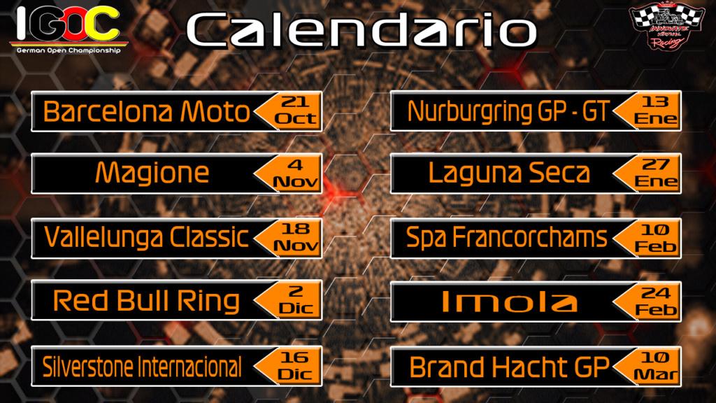 Calendario Competición Calend14