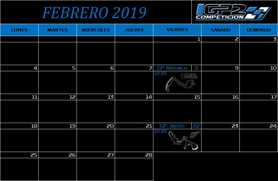 Calendario Febrer11