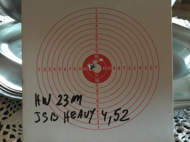 Tests plombs avec carabine Weihrauch HW97 BL B9518910