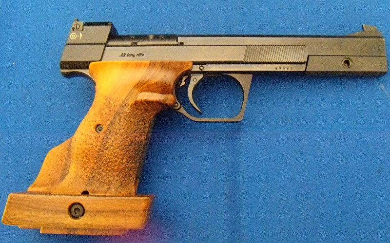 SOLD--WTS: Hammerli 208S Target Pistol Excellent Used Condition--SOLD Ham1b10