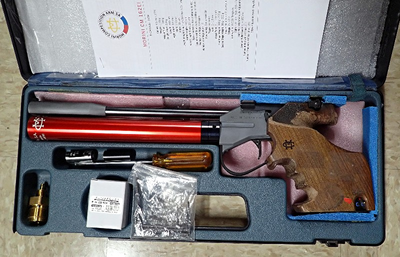 SOLD FS: Morini 162E Olympic Match Air Pistol w/Electronic Trigger  Morini10