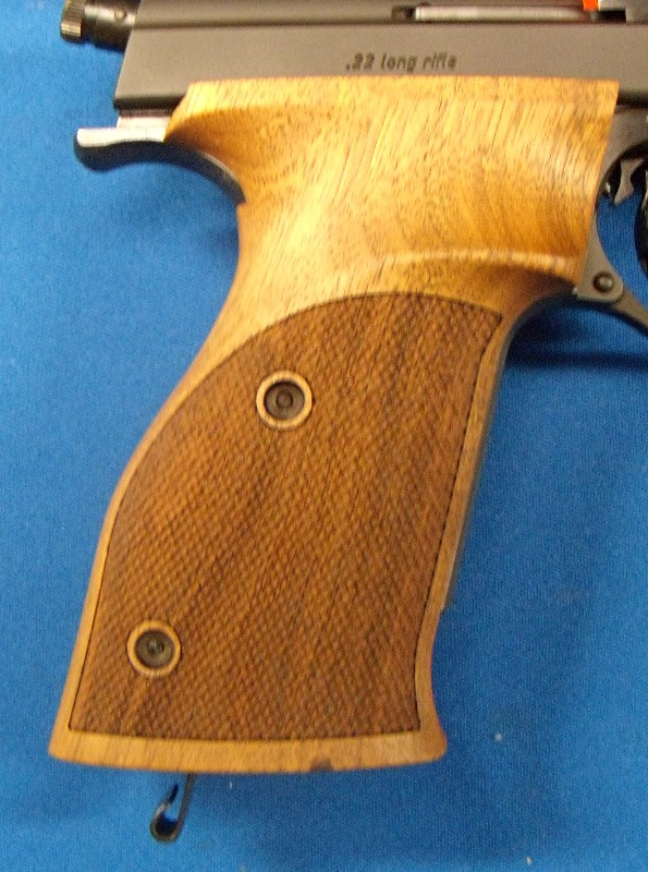 Reduced Price--FS: Nill Wood Grips for Hammerli 208/208S/215 Symmetric-Left or Right Hand Nill210