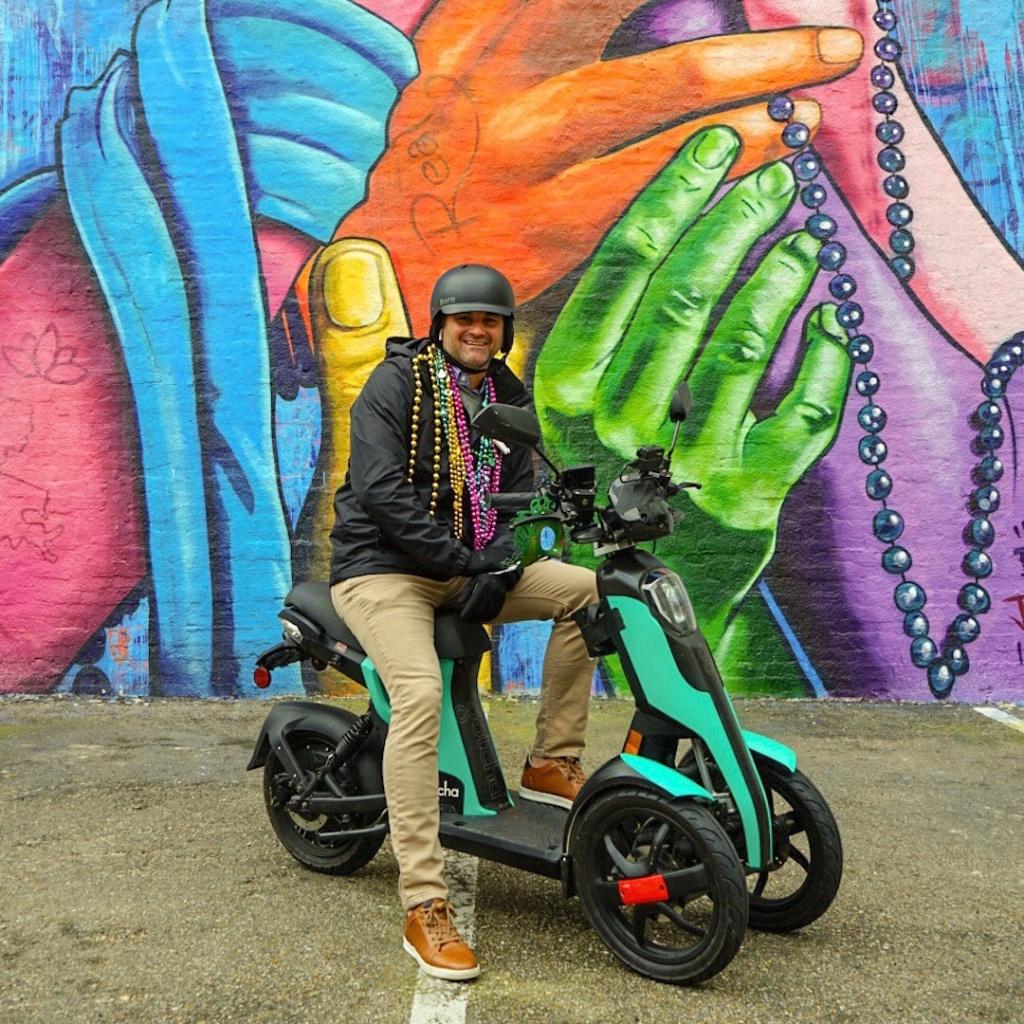 Ils vont bientôt débarquer en ville : les tricycles électriques ! Par Hilaire Picault  52326510