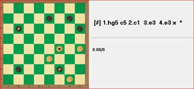 Шашечные головоломки. E294